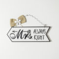 Flechas Mr. Right y Mrs. Always right-2