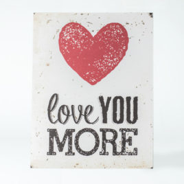 "Cuadro ""Love you more"""