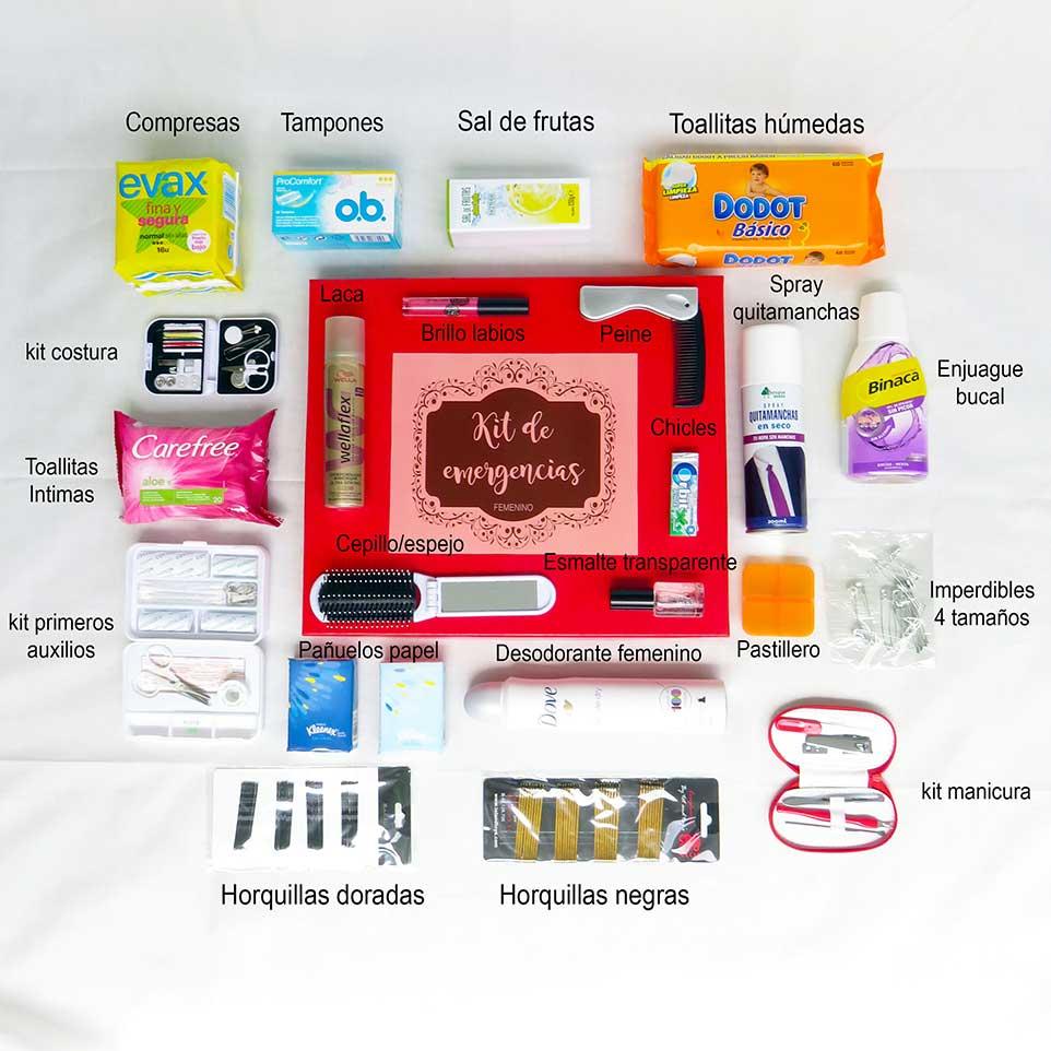 e2d1835d3 Kit de emergencias WC mujeres - Kits de emergencias Que Salga el SOL