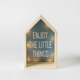 "Luminoso ""Enjoy the little things""-1"