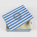 Caja de rayas azules y blancas-4