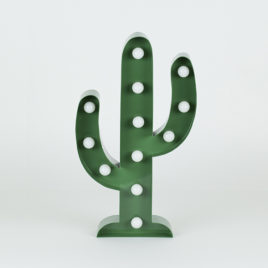 Cactus verde de luces led-1