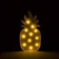 Piña de luces led amarilla-2